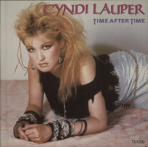 Cyndi Lauper Time After Time 1984 UK 12 vinyl TA4290