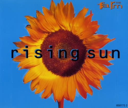 The Farm Rising Sun 1992 Austrian CD single 6581732