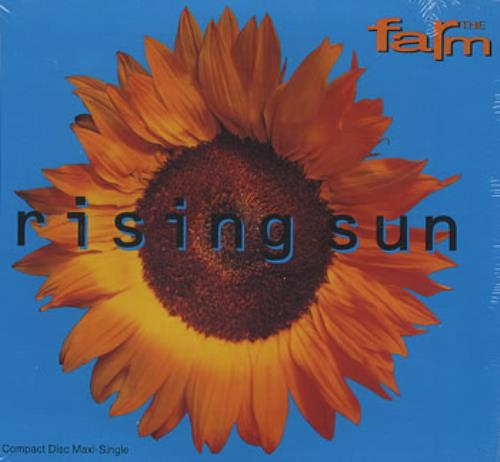The Farm Rising Sun 1992 USA CD single WB40543