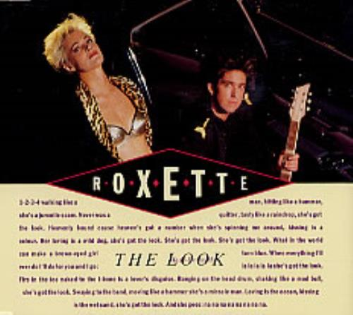 Roxette The Look 1989 Swedish CD single 1363332