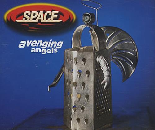 Space (90s) Avenging Angels 1997 UK CD single CDGUT16