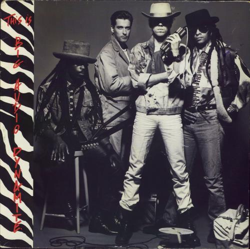 Big Audio Dynamite This Is Big Audio Dynamite 1985 UK vinyl LP CBS26714