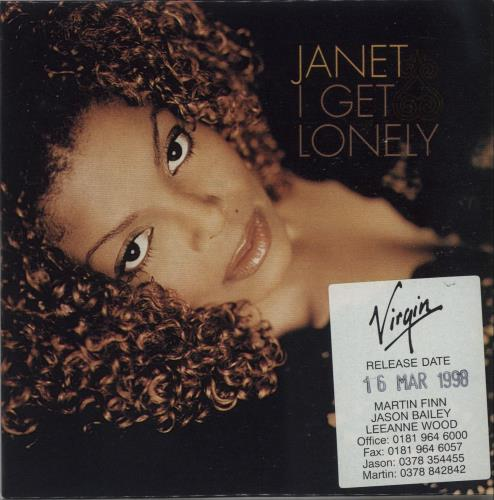 Jackson, Janet - I Get Lonely CD