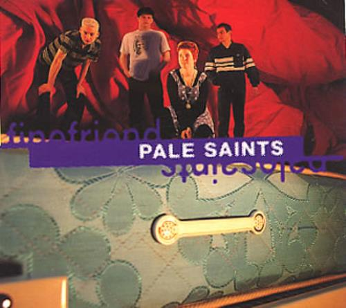 Image of Pale Saints Fine Friend 1994 UK CD single BAD4013CD