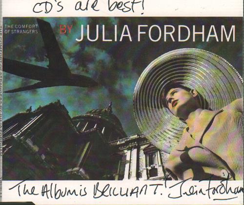 Fordham, Julia - The Comfort Of Strangers - Signed