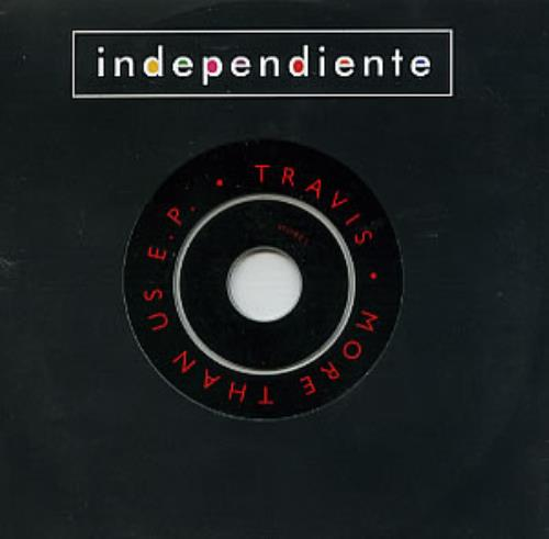 Travis (90s) More Than Us 1998 UK CD single MORE1