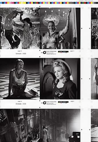 Madonna Evita  2pg Proof Artwork Set 2000 USA artwork PROMO ARTWORK