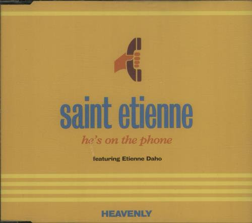St Etienne - He's On The Phone LP