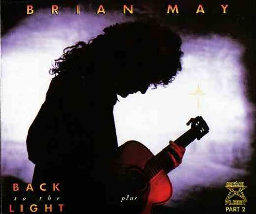 Image of Brian May Back To The Light + Star Fleet Part 2 1992 UK CD single CDR6329