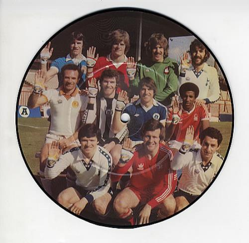 """Image of Various-Football & Sport Peace 1979 UK 7"""" picture disc K18039P"""