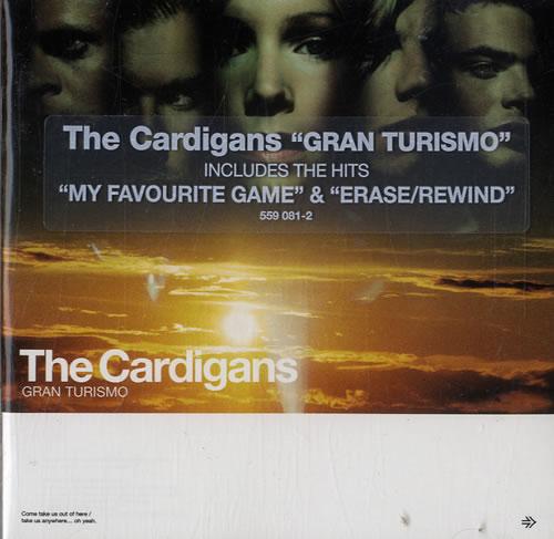 The Cardigans Gran Turismo 1998 UK CD album 559081-2