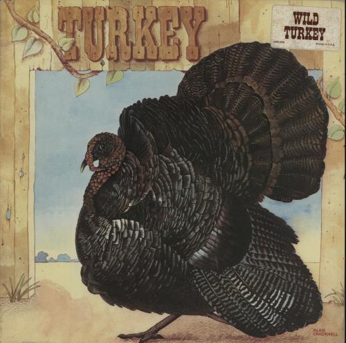 Wild Turkey Turkey 1972 USA vinyl LP CHR1010