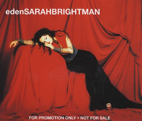 Sarah Brightman Eden 1998 German CD single PR01089