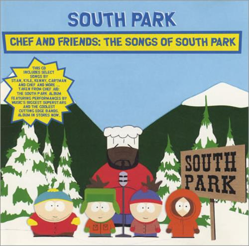 South Park Chef And Friends 1998 USA CD album CSK41670