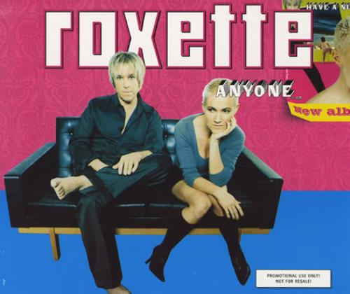 Roxette Anyone 1999 Dutch CD single CDPRO4222