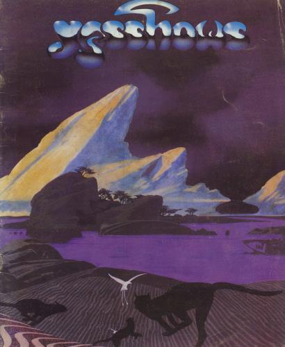 Yes Yesshows 1980 1980 USA tour programme TOUR PROGRAMME