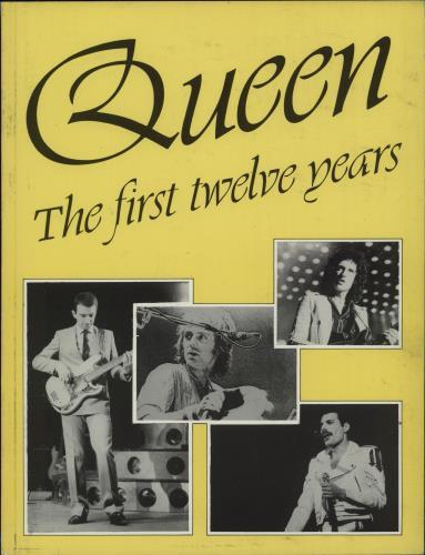Queen The First Twelve Years 1984 UK book 0907188222