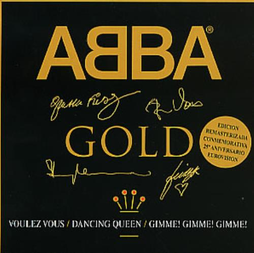 Abba Abba Gold Sampler 2 1999 Spanish CD single ABBA1