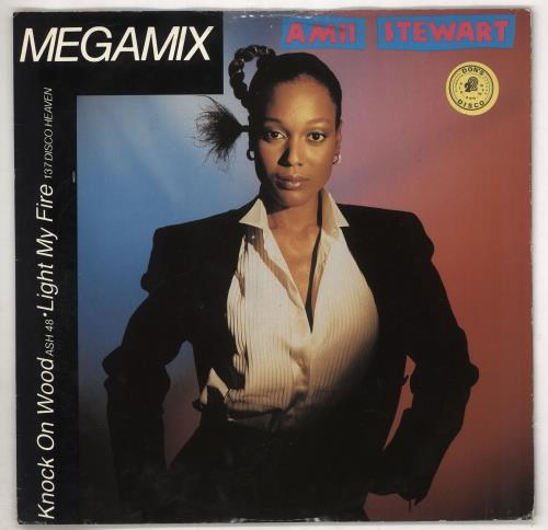 Amii Stewart Megamix 1985 UK 12 vinyl EDITX3303