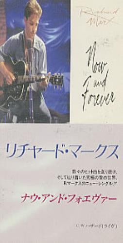 "Image of Richard Marx Now And Forever 1994 Japanese 3"" CD single TODP-2422"