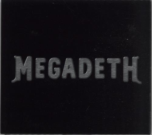 Megadeth Megadeth 1999 UK CD album MEGADETH01