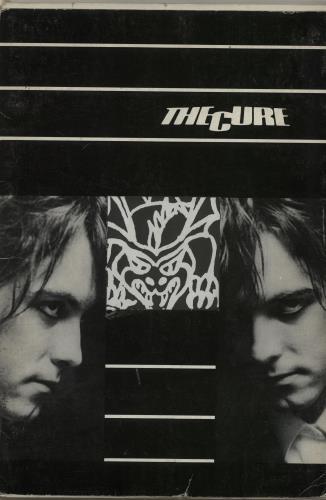 The Cure The Cure  Postcard Italian book BOOK