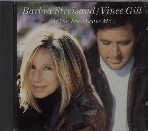 Barbra Streisand If You Ever Leave Me 1999 USA CD single CSK42713