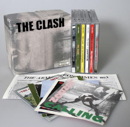 The Clash The Clash  6CD Box Set 1999 USA cd album box set BOX SET