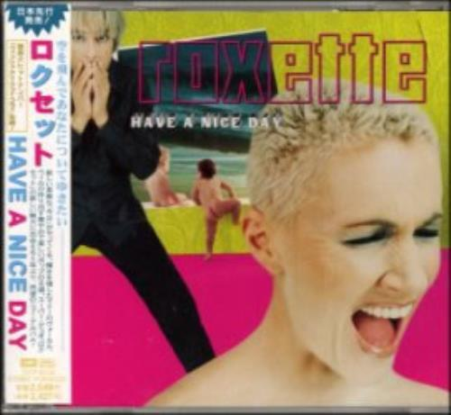 Roxette Have A Nice Day 1999 Japanese CD album TOCP65156