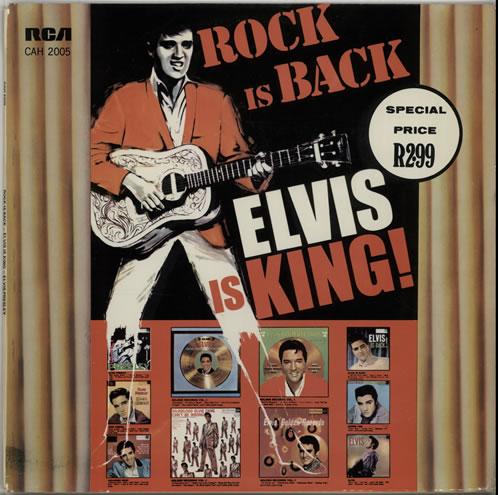 Presley, Elvis - Rock Is Back - Elvis Is King