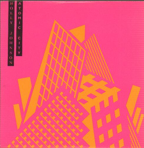 Holly Johnson Atomic City 1989 UK CD single DMCAT1342