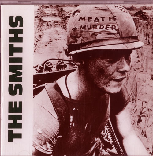 The Smiths Meat Is Murder UK CD album ROUGHCD81