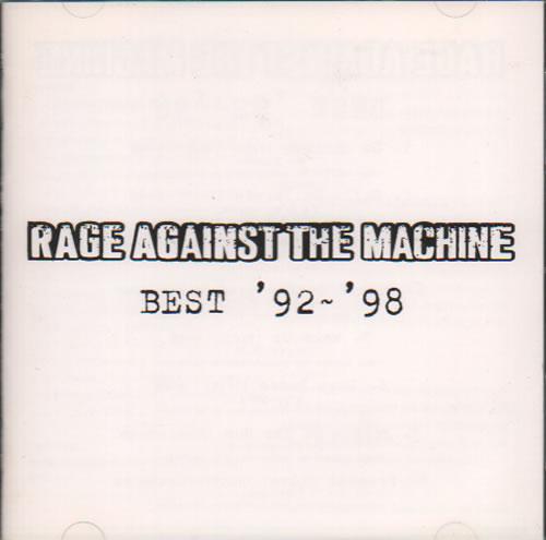 Rage Against The Machine - Best '92-'98