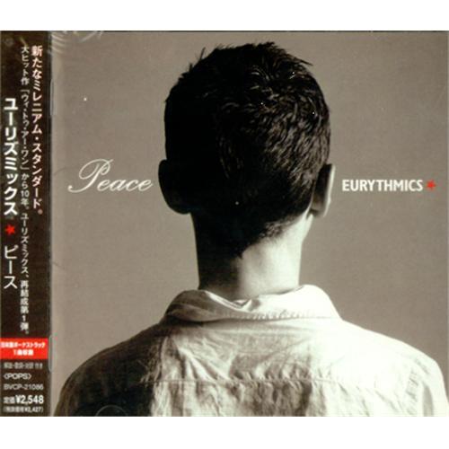 Image of Eurythmics Peace 1999 Japanese CD album BVCP-21086