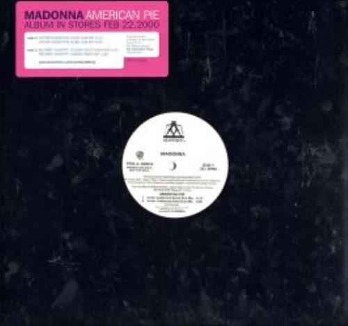 Madonna American Pie 2000 USA 12 vinyl PROA100018
