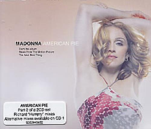 Madonna American Pie  Part 2 2000 Australian CD single 9362448402