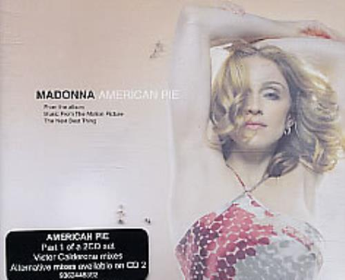 Madonna American Pie  Part 1 2000 Australian CD single 9362448392
