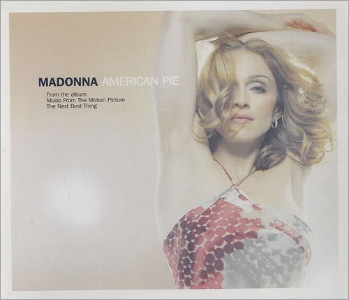 Madonna American Pie 2000 UK 2CD single set W519CD1CD2