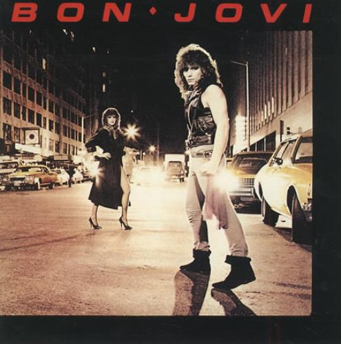 Bon Jovi Bon Jovi 1984 Japanese CD album 28PD522