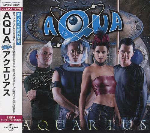 Aqua Aquarius 2000 Japanese CD album MVCZ10079