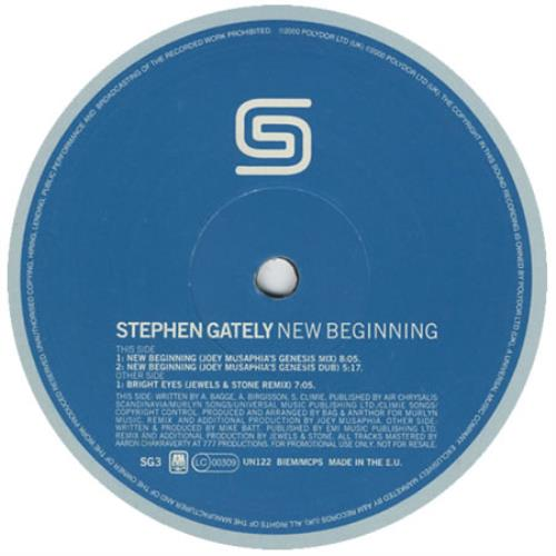 Stephen Gately New Beginning 2000 UK 12\