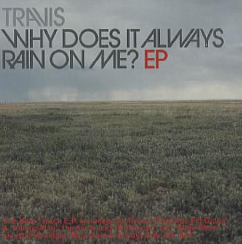 Travis (90s) Why Does It Always Rain On Me 1999 Austrian CD single ISM6676785