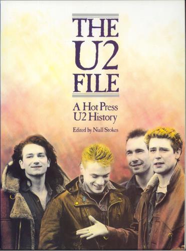 U2 The U2 File 1985 Irish book 0711907609