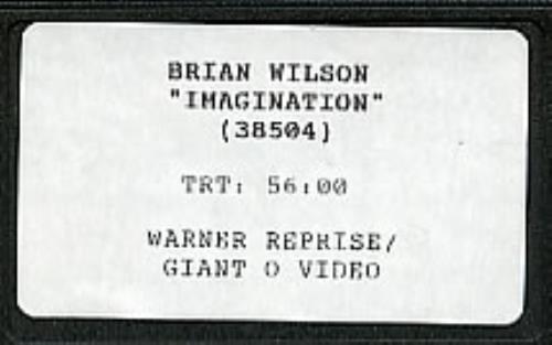 Wilson, Brian - Imagination Vinyl