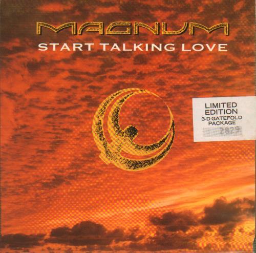 Magnum - Start Talking Love - 3-d Gatefold Pack