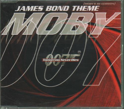 Moby James Bond Theme (Mobys ReVersion) 1997 UK CD single CDMUTE210
