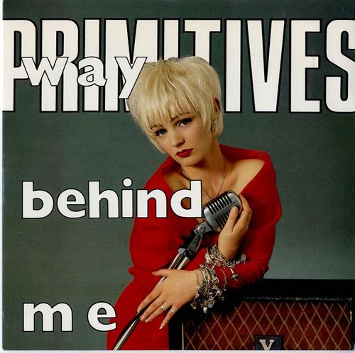 "Image of The Primitives Way Behind Me 1988 UK 7"" vinyl PB42209"
