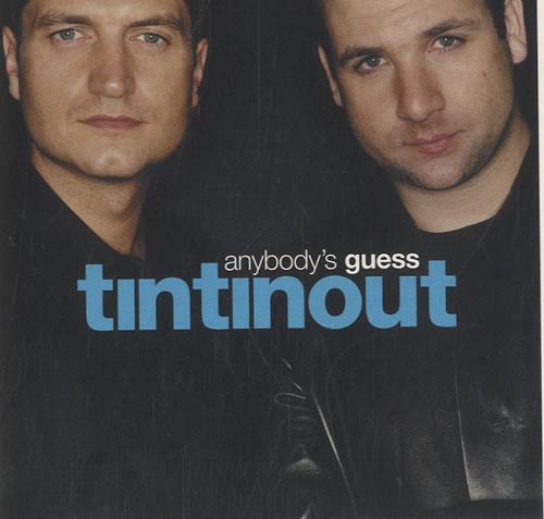 Tin Tin Out Anybodys Guess 2000 UK CD single VCRDDJ65