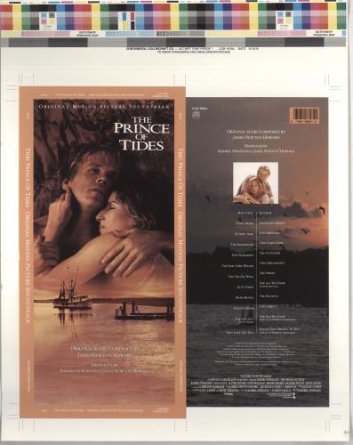 Barbra Streisand The Prince Of Tides  longbox artwork 1992 USA artwork ARTWORK