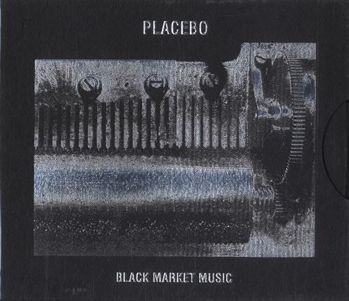 Image of Placebo Black Market Music 2000 UK CD album CDPFLOOR13